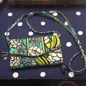 Vera Bradley wallet on a chain